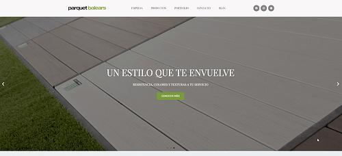 Parquet Balears - Creación de Sitios Web