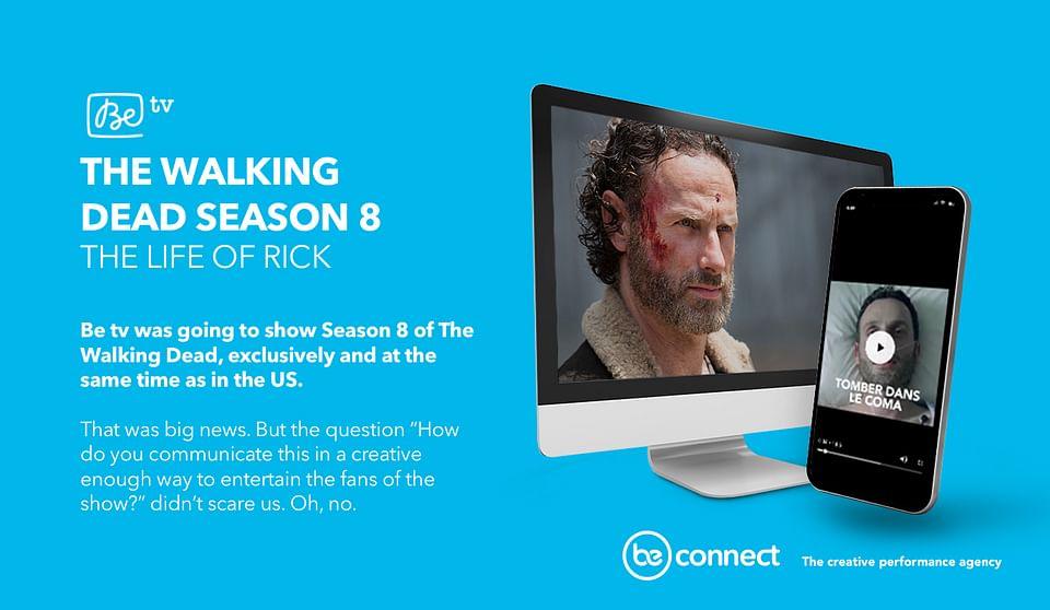 Voo | Be TV: The Walking Dead season 8