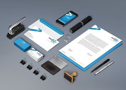 Corporate ID design for Fast Track