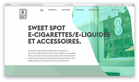 Website Development for a Swiss Retail company