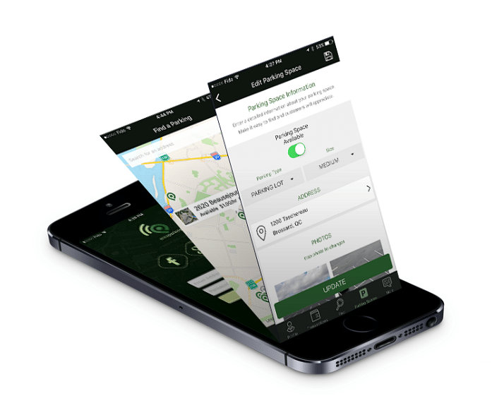 AreaParking - iOS and Android APP