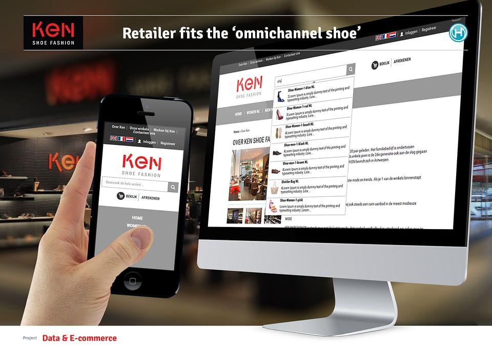 E-commerce for retailer