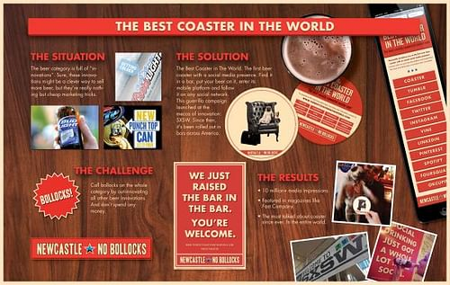 THE BEST COASTER IN THE WORLD - Advertising