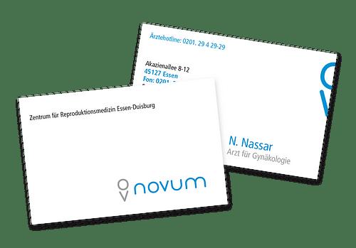 Novum - Grafikdesign