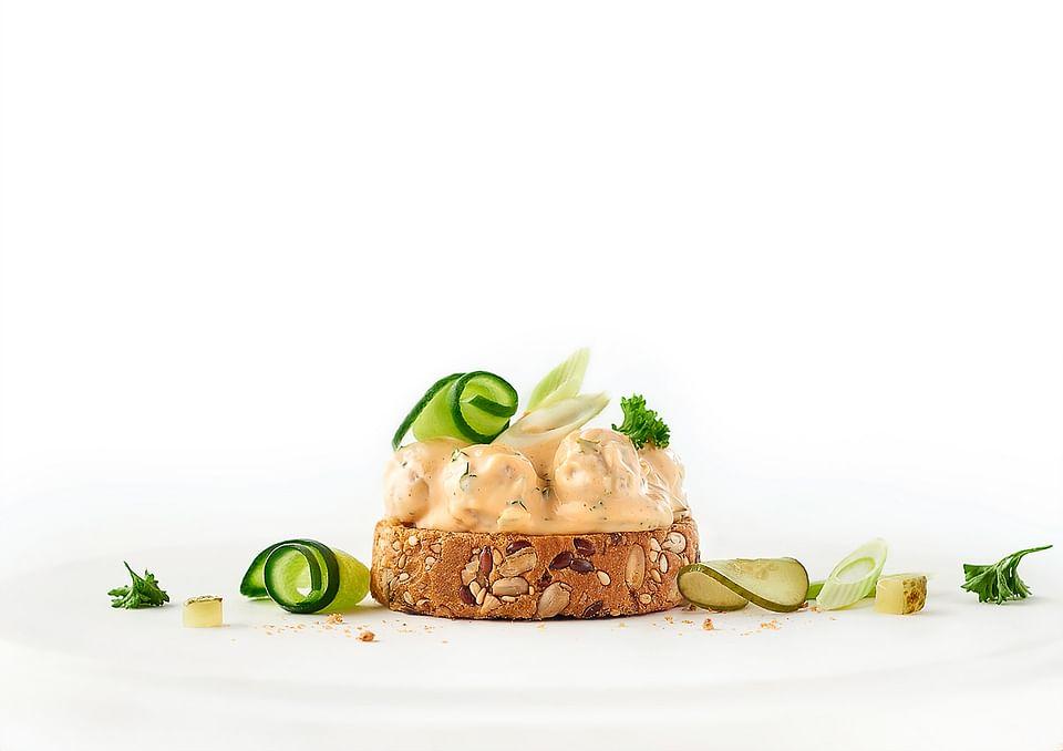 Tapas Foods , fotografie bereide salades