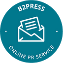 B2Press Online PR Agency logo