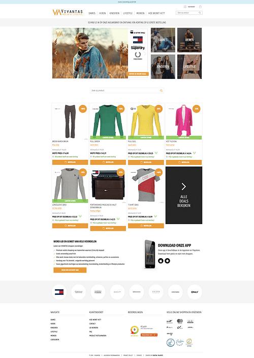 Vivantas - Website Creatie