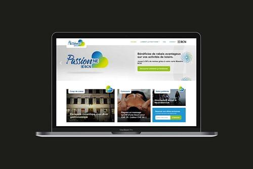 Plateforme en ligne d'activités pour la BCN - Création de site internet