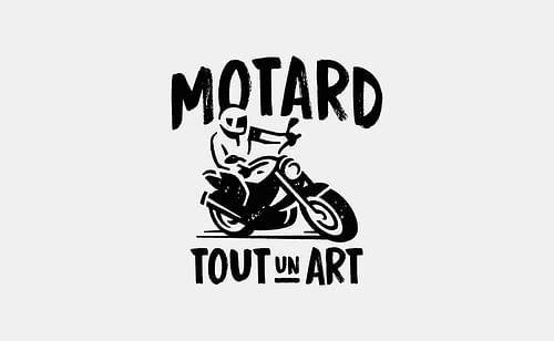 Motard tout un art - Image de marque & branding