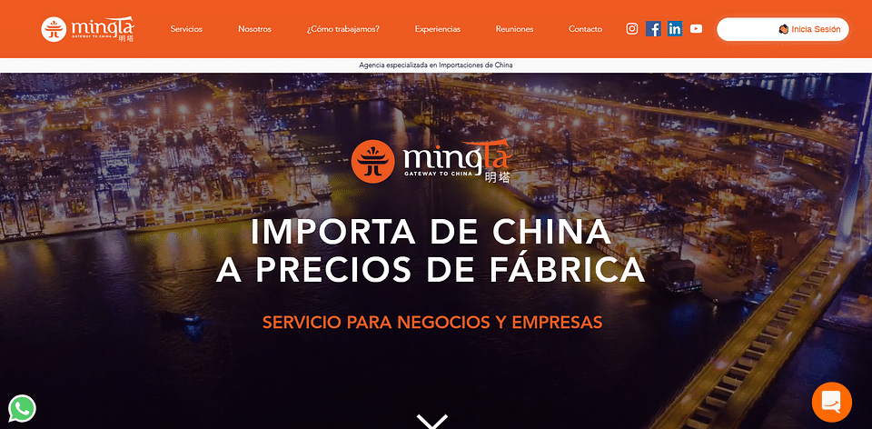 Website - Comercio Internacional - WIX