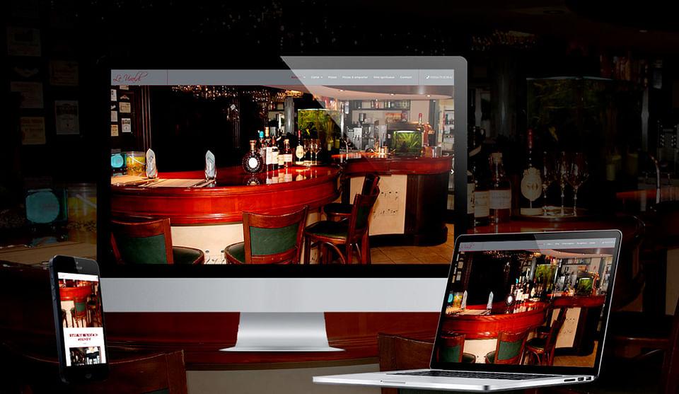 Site vitrine restaurant Le Vivaldi Chambéry