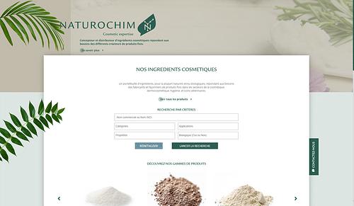 Naturochim passe au responsive - Création de site internet