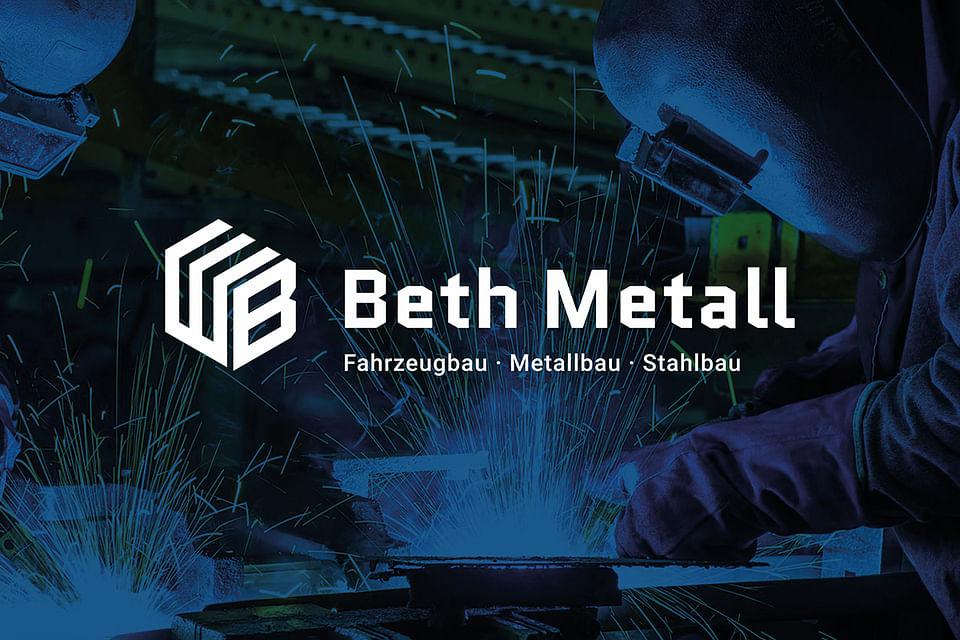 "Corporate-Design ""Beth Metall"""
