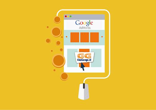 Google Adwords campagne GlasGarage Nederland - Online Advertising