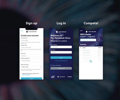 Web App - Dynabook - Website Creatie