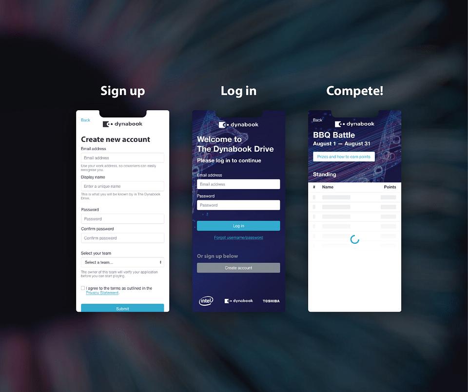 Web App - Dynabook
