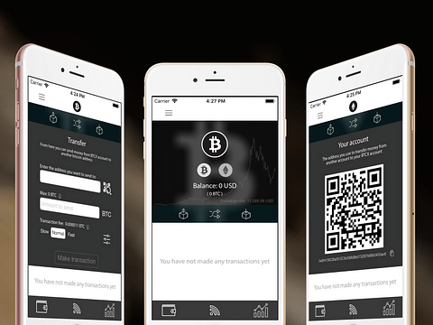 Crypto Currency Wallet App
