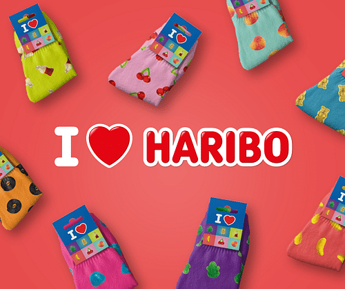 I love Haribo campagne - Design & graphisme