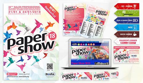 Bosta - Salon Paper Show - Design & graphisme