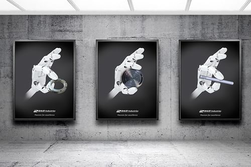 STAND - BAUD Industries - Design & graphisme
