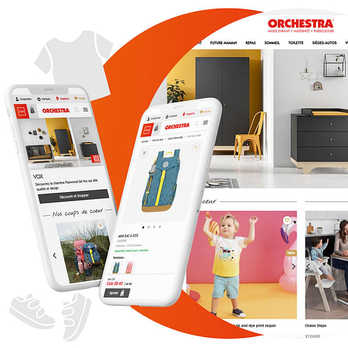 Orchestra - Plateforme E-commerce - E-commerce