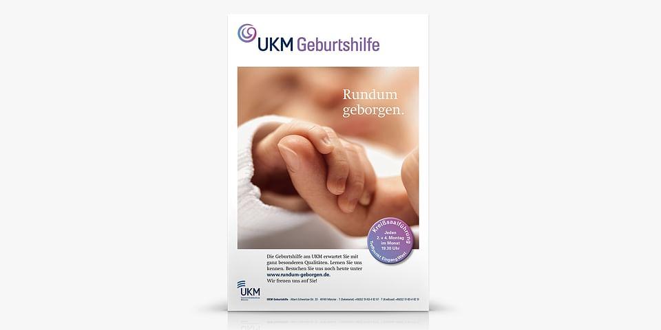 Kampagne für die Uni-Klinik Münster