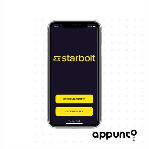 Plateforme Starbolt - Application mobile