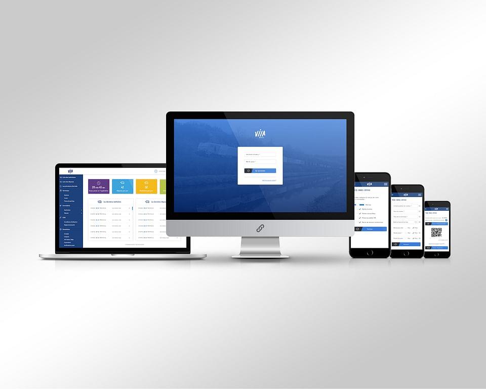 VIIA SNCF   App iOS & Android [IONIC / ANGULAR]