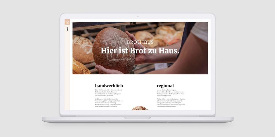 BrotHaus - Website Relaunch