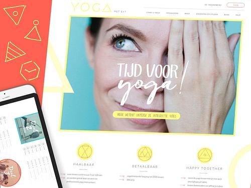 Evy Gruyaert and Design is Dead reach serenity tog - Website Creatie