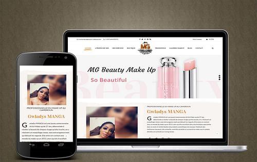 Site Make Up - Création de site internet