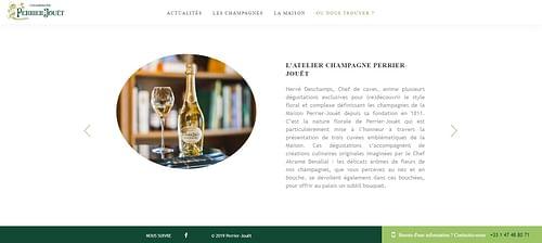 Atelier Perrier-Jouët - E-commerce