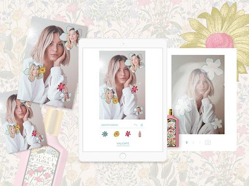 Gucci Beauty- Flora - Ergonomie (UX/UI)