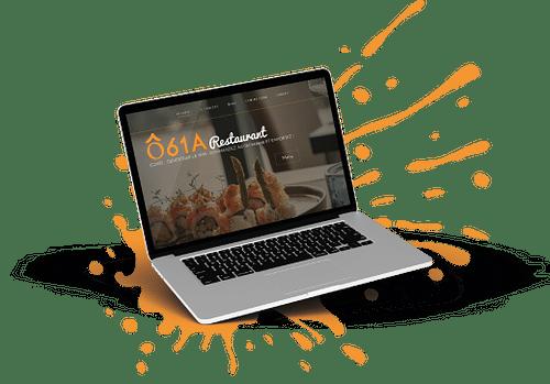 Site vitrine pour un restaurant nivellois - Website Creatie