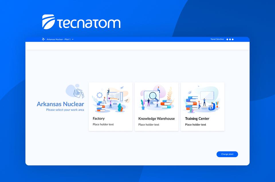 Plataforma de formación para Tecnatom