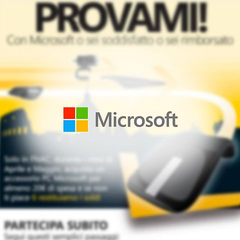 Microsoft Italy B2B and Consumer Promotions