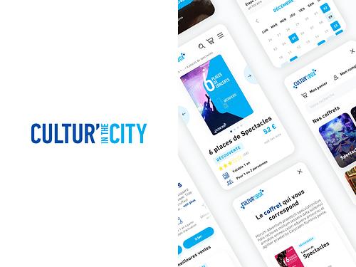 Cultur' in the City - Mobile App