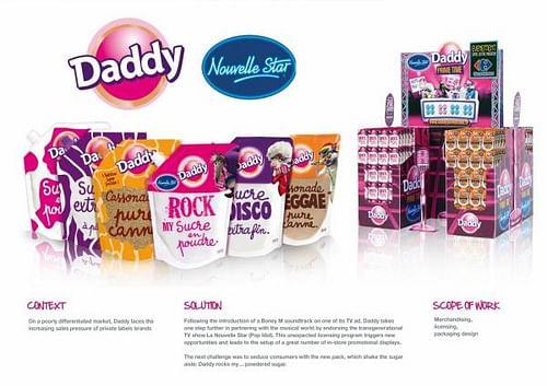 DADDY - Publicidad