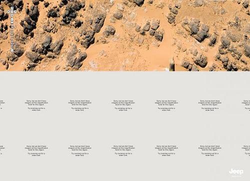 DESERT MAP - Advertising