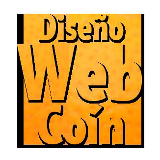 Diseño web Coín logo