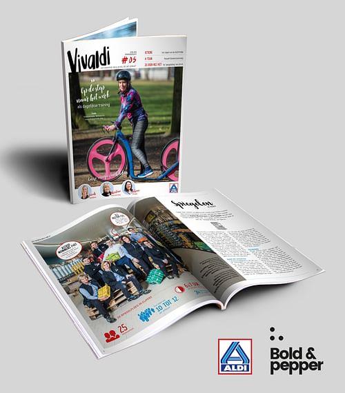 Vivaldi: ALDI's employee magazine - Content Strategy