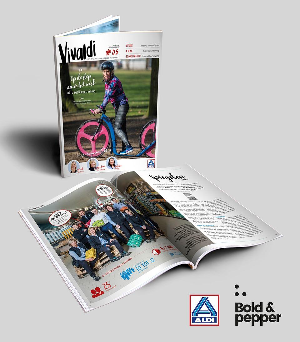 Vivaldi: ALDI's employee magazine