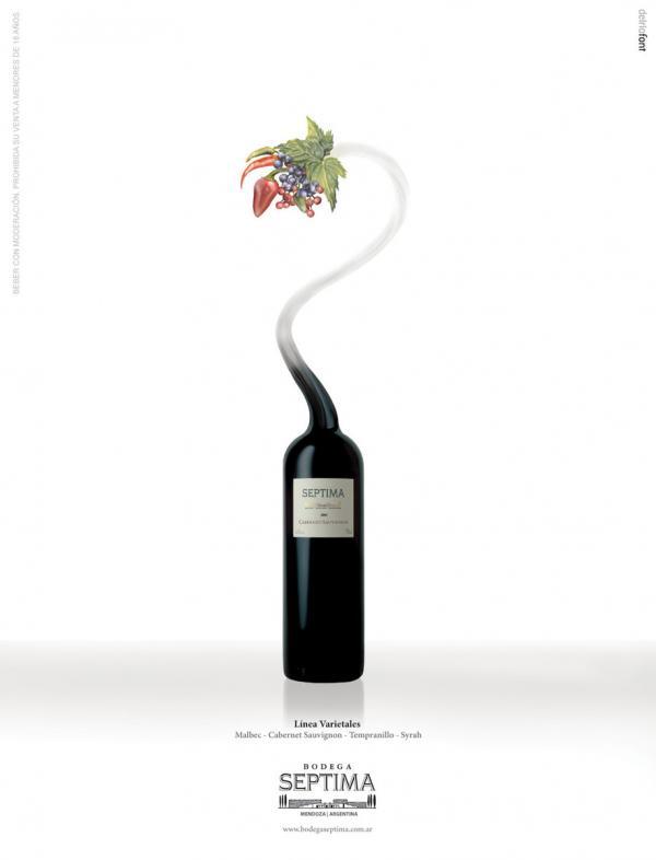 Vitrofusion, Cabernet Sauvignon - Graphic Design