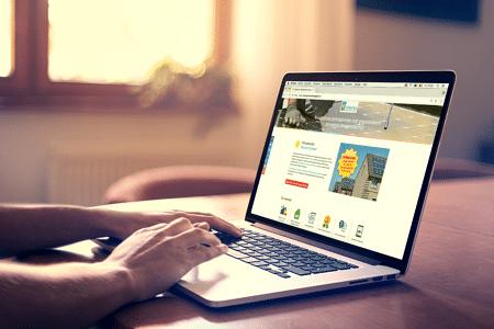 Offertetool voor Advenso - Website Creatie