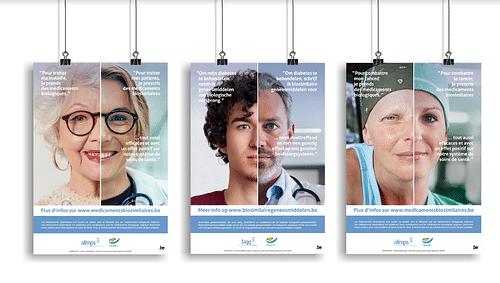 Multimedia awareness campaign for FAMHP - Publicité