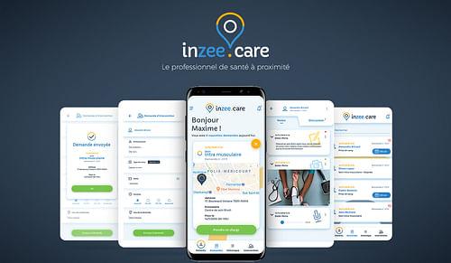 Inzeecare - Ergonomie (UX/UI)