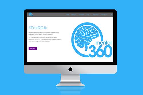 Mental 360 - Website Creation