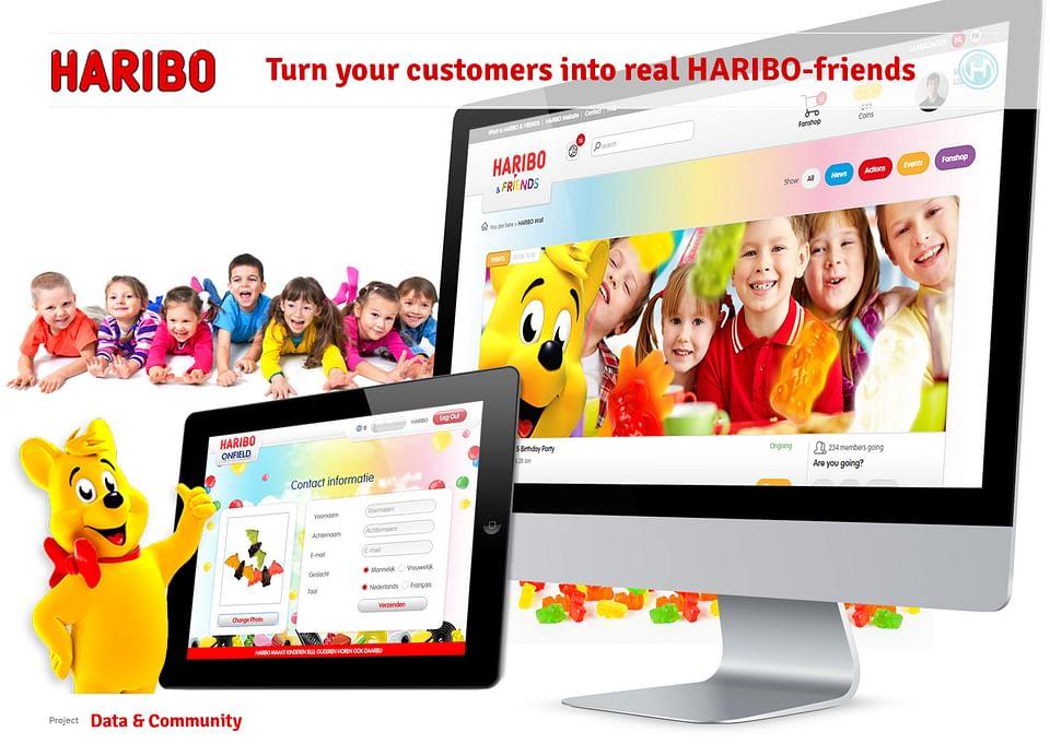 Digital strategy for Haribo