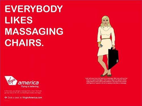 Virgin Amirica 6 - Advertising