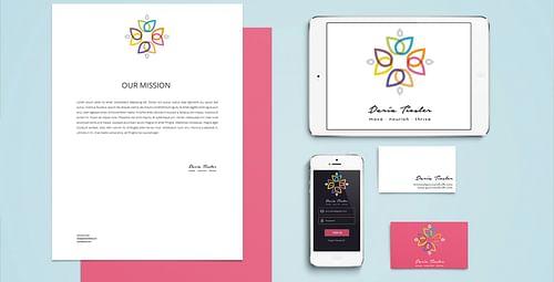 Daria Tiesler Logo & Stationary - Branding & Positioning